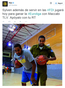 El ejército israelí y sus buenas relaciones con el Maccabi | FDIonline