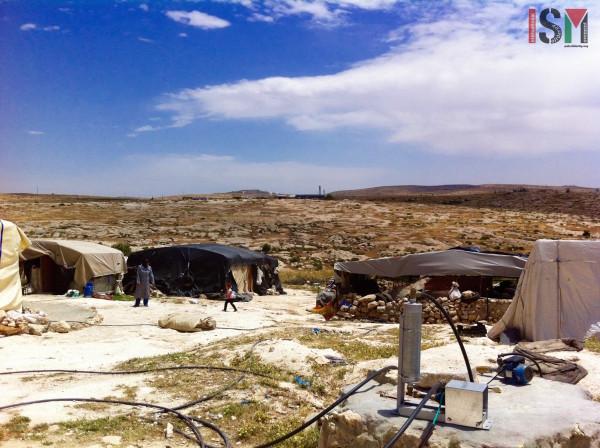 Pueblo de Susiya, bajo amenaza de demolición